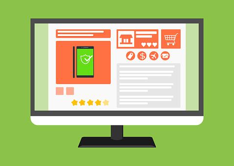 E-Commerce, Online Shop, Web, Template
