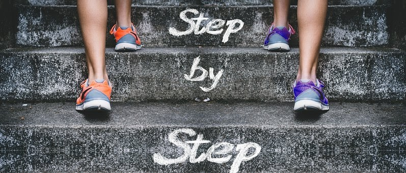 Stairs, Gradually, Feet, Legs, Success