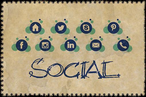 Web Page, Parts, Social Media, Contact