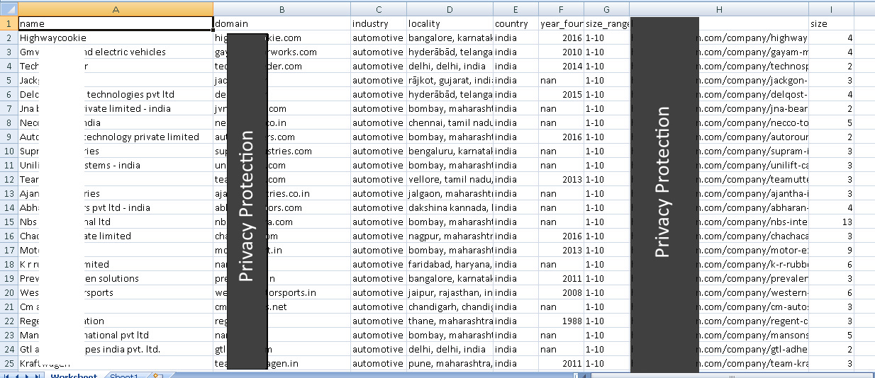 Steps to Generate Leads data in excel format