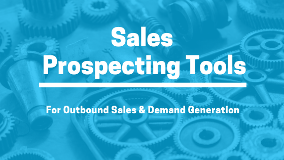 What Are Sales Prospecting Tools?